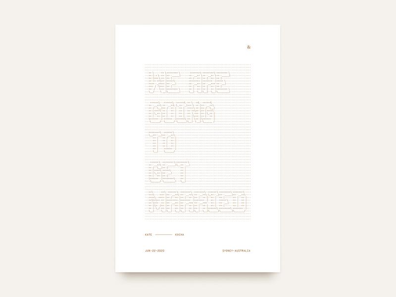 💍 Personal Graphic typogaphy poster design graphic design