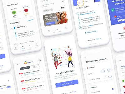 handled app mobile app design ux ui design ux strategy