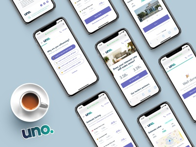 Uno home loans (refinancing experience) fin tech interface design interaction design ux strategy