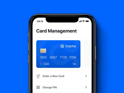 Cache mobile app design — 04