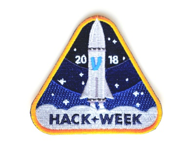 🚀 Venmo Hackathon Swag patch tech venmo space