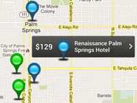 plotted hotels