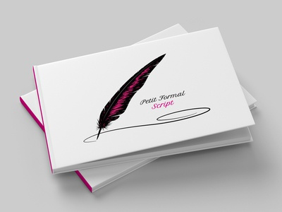 Petit Formal Script Type Specimen Booklet
