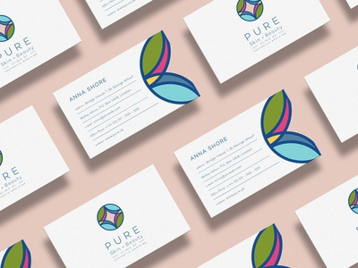 Pure Branding   business cards