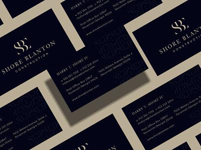 SBC Branding print design print visualidentity business cards business card design vector typography luxury monogram graphicdesign initials logo boutique logo letters creative logodesign branding logo