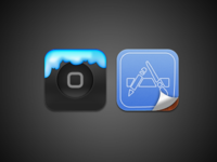 WinterBoard & App Store iOS Icons