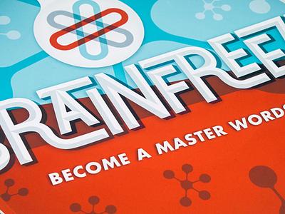 Brainfreeze art direction logo package design branding
