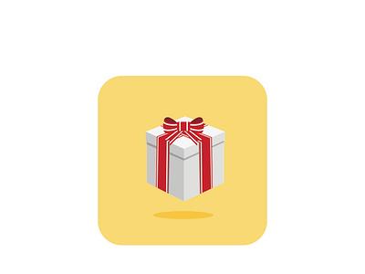 Gift birthday card happy birthday birthday christmas tree christmas card christmas branding gift illustration design vector