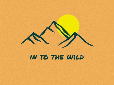 nature wildlife wild nature logo nature art mountains mountain nature logo illustration design branding vector