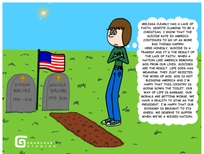 Changes In Life Pt. 2 - (Page 24) Stark Thoughts cemetery us flag american flag tombs tomb tombstone tombstones graves grave graveyard burial buried resentful resentment bitterness bitter anger