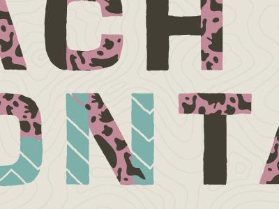 YWFT Yoke font layering retro ywft typeface
