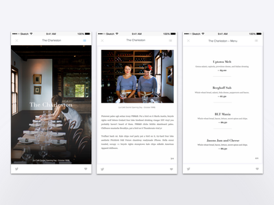 The small business tail. app design story app user-interface design ui