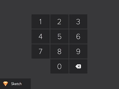 iPad keypad numberpad download keyboard sketch ipad