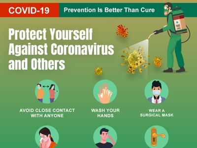 Prevention is better than cure | Staying home can save lives.