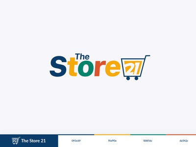 The Store 21 Logo   AWAYR app design ui branding vector icon iconography illustration flat design logo