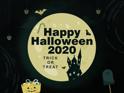 😄Happy 🎃Halloween Theme 👻🍻🍭 halloween 2020 candy horror soul bat illustraion halloween party halloween bash halloween happy halloween