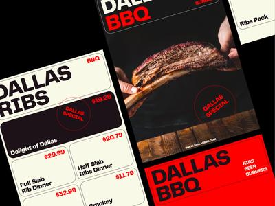 DALLAS BBQ – Visual Identity