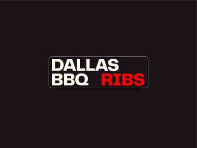 DALLAS RIBS - Logotype