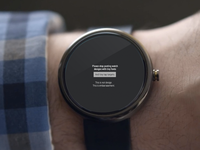 Please stop with these unusable watch designs. watch android wear