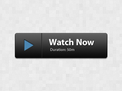 watch now button by timothy whalin dribbble dribbble