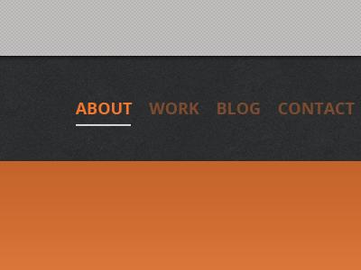 Personal website design sneak peek 5