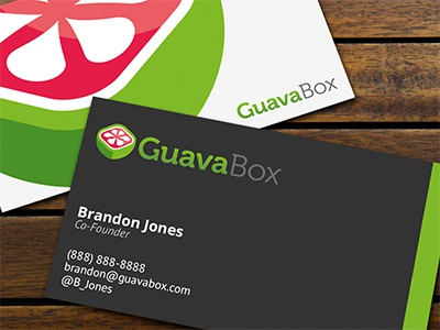 GuavaBox Business Cards business cards branding print