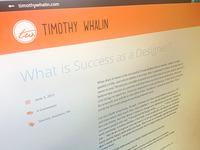 Blog Design 2