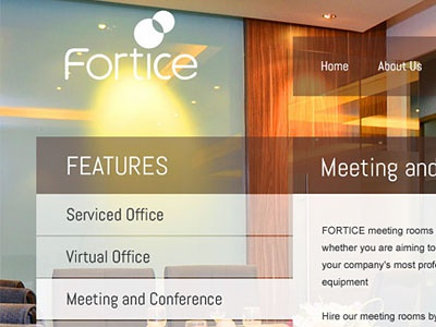Fortice grid webdesign office corporate