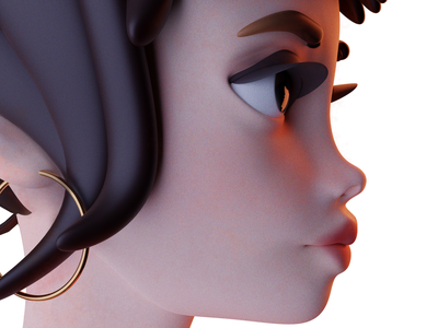 CG Girly comic art 3dcharacter characterdesign cartoon anime digitalportrait portrait digital illustration digitalartwork digital art digitalartist animation 3d cinema4d blender3d 3d art 3dgraphic cgi illustration 3d artist