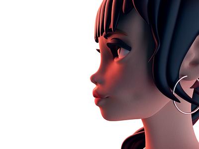 CG Girl anime cartoon girl illustration blender3d character animation girl character digitalportrait portrait characterdesign 3dart 3dgraphic cinema4d 3d digital illustration digitalartwork digitalartist digital art 3d artist illustration cgi