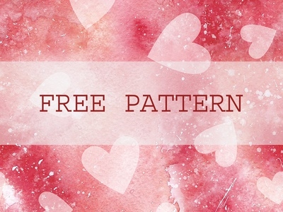 Free Hearts Seamless Pattern