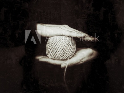 Jute Twine on Roll in Female Hands templatedesign template design design template hand fashion design fashion brand textile design textiles photography photo textile print black and white