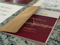 L&L Wedding Invites - Mailer