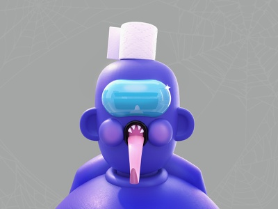Among Us - Impostor halloween design halloween halloween party purple webdesign game art impostor among us amongus 3d artist dribbble best shot 3d art kawaii art love illustration design dribble character 3d colors