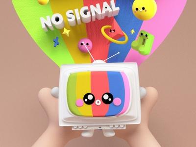 NO SIGNAL 😊📺✨