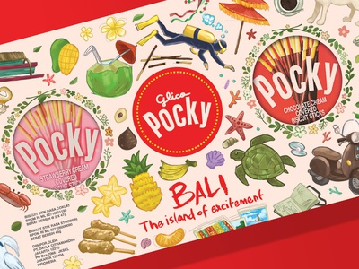 Glico's Pocky Bali Special Edition Package