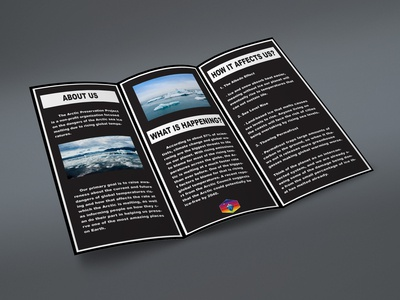 The Arctic Preservation Project Brochure Inside Fold