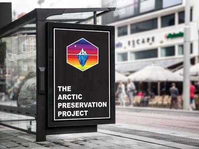 The Arctic Preservation Project Billboard Mock Up