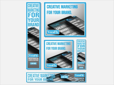 VeraFly Creative Marketing Banner Ads