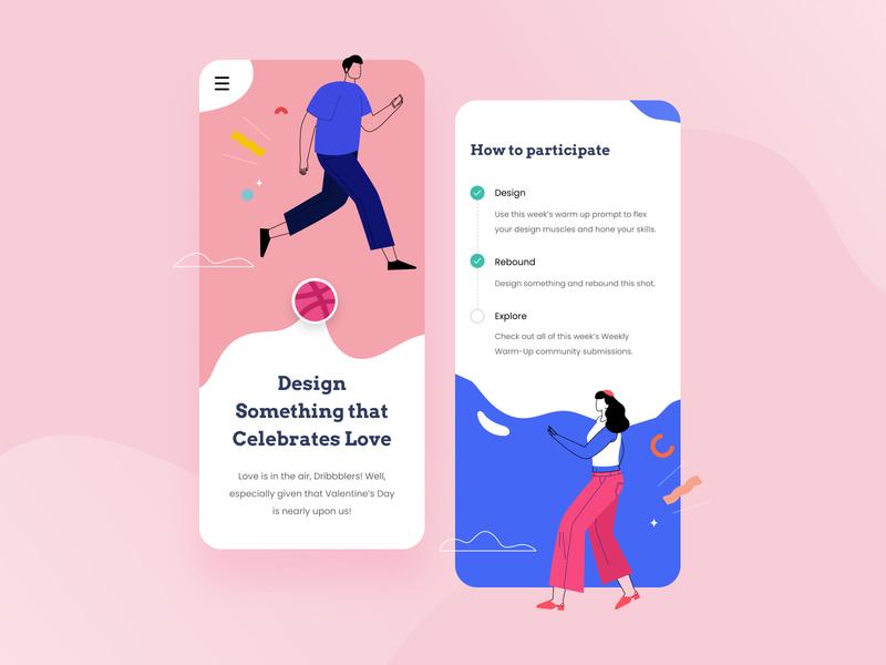 Valentine's Day - UI Concept