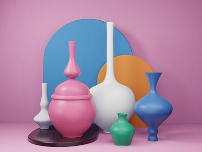 Vases vases 3d