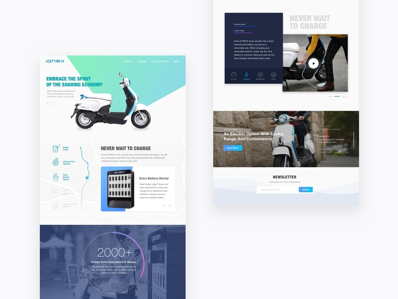 Scooter Homepage