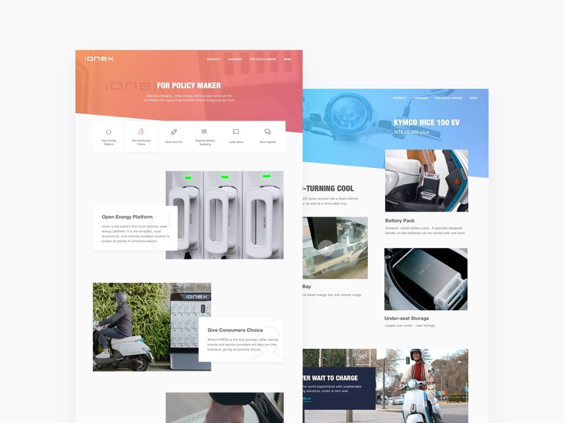 Web Design for Scooter