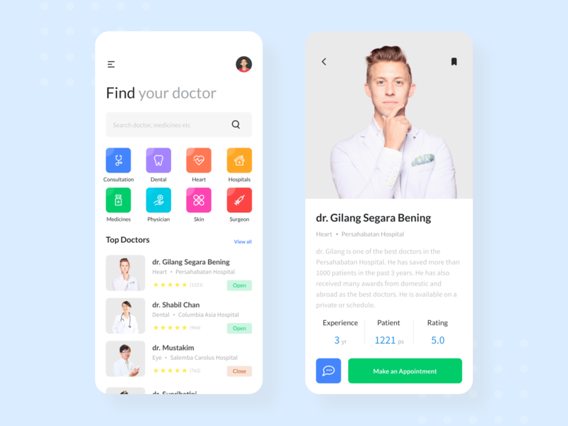 #Exploration | Doctor App