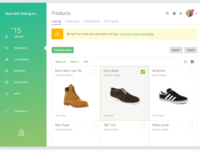 Shopify Products Page Redesign