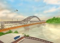 Mahakam Bridge