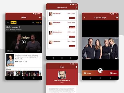 Celebrity App celebrity ux ui ios app app design app celebrity app mobile app entertainment