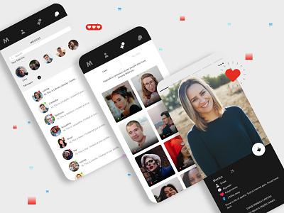 Date App ui ux design social apps adult app app hookup app find partner app social app dating datingapp