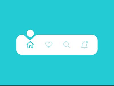 Tab Bar Navigation Animation navigation design navigation motion tab bar iconset animation app design mobile app design ui tab menu tab design tab navigation