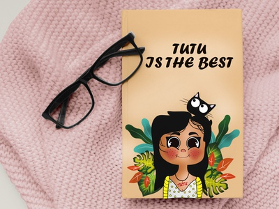 Children Book Cover Illustration dribble book cover cover design kids artist kids illustration kidlitart children book illustration childrens illustration sri lanka cat dribbble flat illustration srilanka creative illustration design colombo drawing illustrator